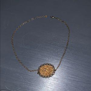 Pink panache necklace